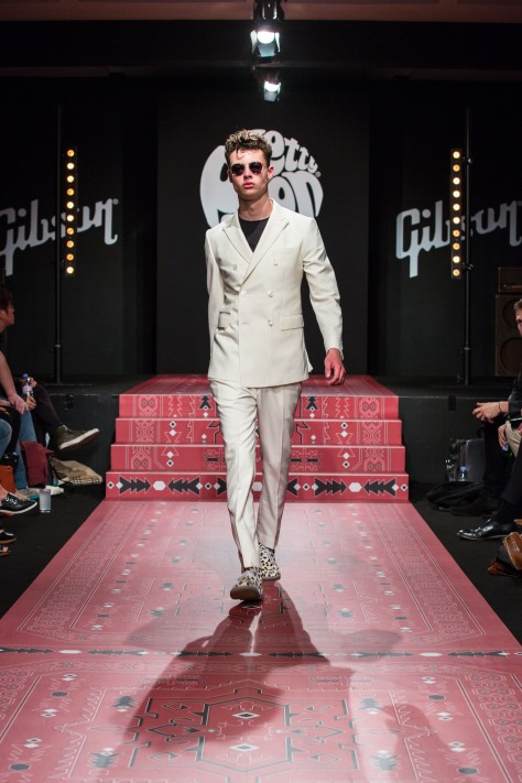 Pretty Green Spring Summer 15 catwalk show