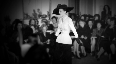 Dior's first 'New Look' collection, 12th February 1947